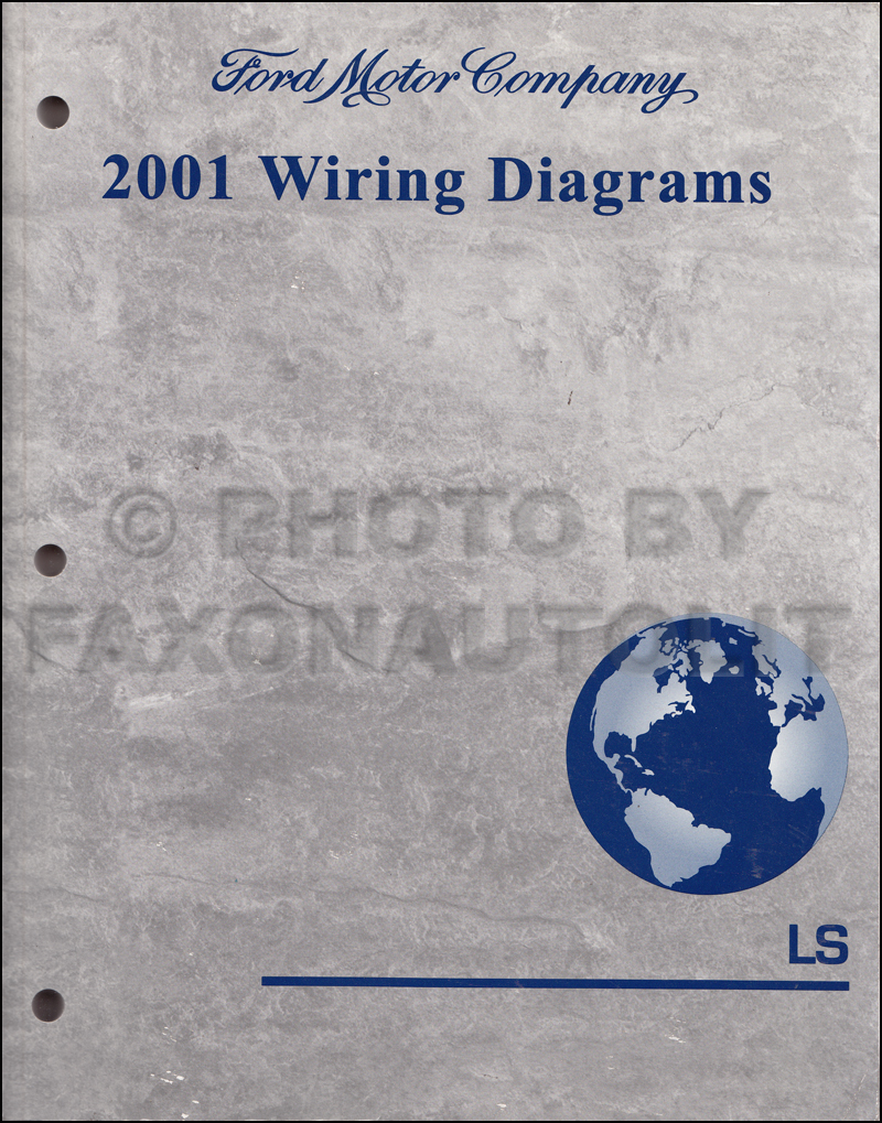 2001 lincoln ls wiring diagram manual original rh faxonautoliterature com  2001 Lincoln LS Ignition Diagram 2001 Lincoln LS V6 Engine Diagram