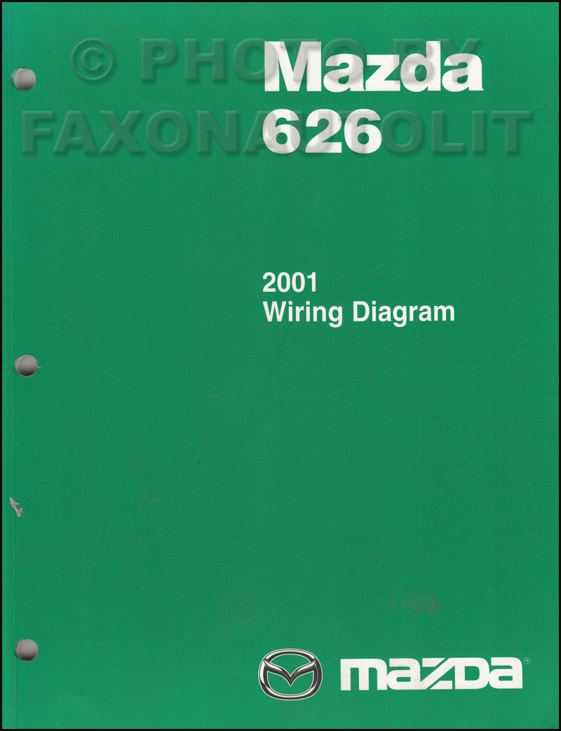 2001 Mazda 626 Wiring Diagram List Of Schematic Circuit 1980 Fxb Shovelhead Manual Original Rh Faxonautoliterature Com Radio