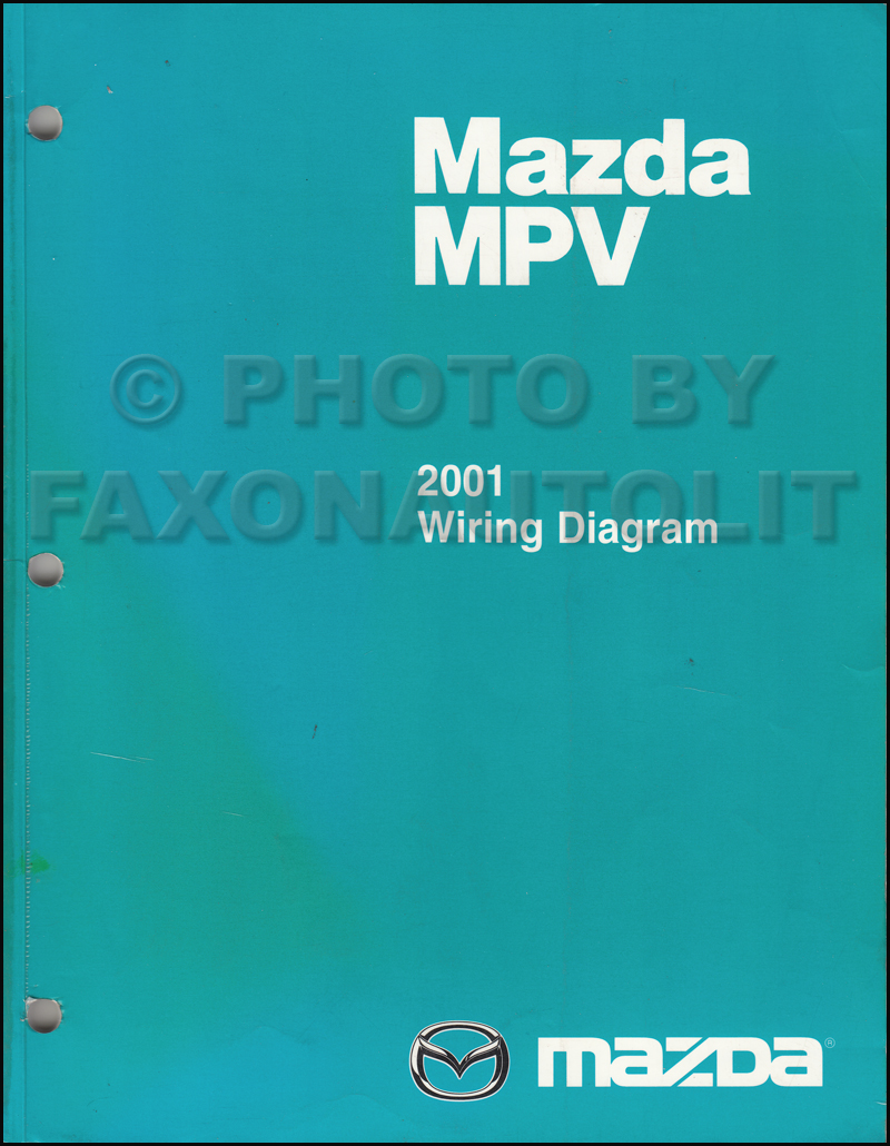 1991 Mazda Mpv Wiring Diagram Original