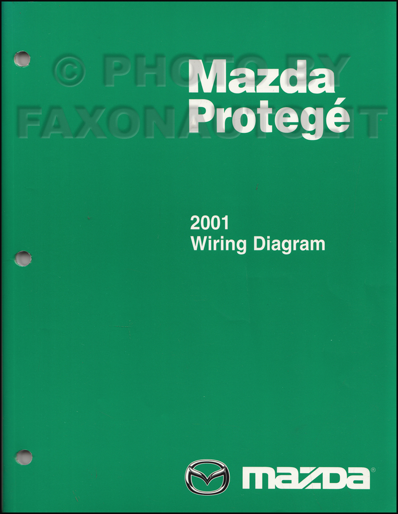 2001 mazda protege wiring diagram manual original rh faxonautoliterature com 2002 mazda protege ignition wiring diagram