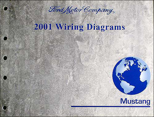 2001MustangWD 2001 ford mustang wiring diagram manual original 1999 ford mustang wiring diagram at creativeand.co