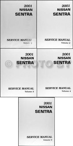 2001 nissan sentra repair shop manual original 5 volume set 2001 nissan sentra repair manual original 5 volume set sciox Gallery