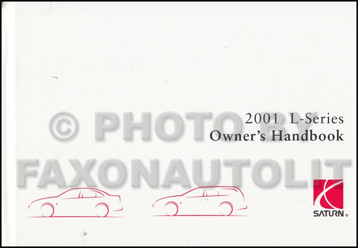 2001 saturn l series owner s manual original rh faxonautoliterature com Saturn SL Series 2004 Saturn Vue