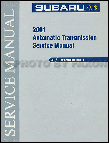 2001 subaru automatic transmission manual original rh faxonautoliterature com