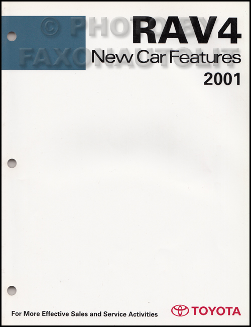 2001 Toyota Rav4 Electric Vehicle Wiring Diagram Manual