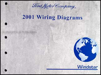 2001 ford windstar wiring diagram manual original rh faxonautoliterature com 2001 f350 radio wiring diagram 2001 ford radio wiring diagram