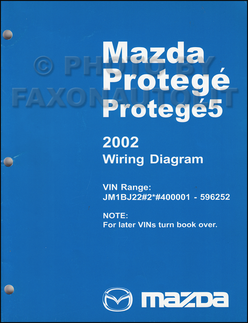 2002 02_5MazdaProtegeOWD 2003 mazda protege and protege5 wiring diagram manual original 2003 mazda protege radio wiring diagram at highcare.asia