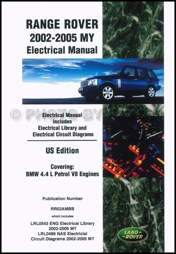 range rover electrical manual 2002 2003 2004 2005 wiring. Black Bedroom Furniture Sets. Home Design Ideas