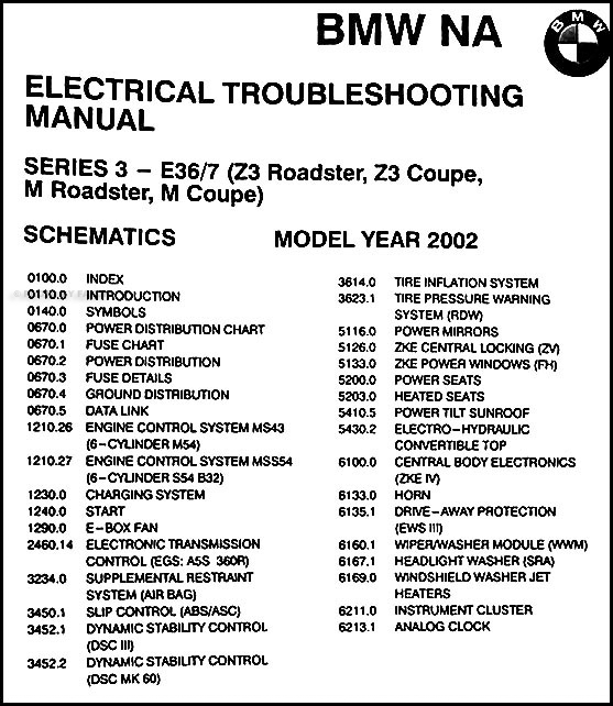 2002BMWZ3ETM TOC bmw z3 radio wiring harness bmw wiring diagrams for diy car repairs bmw z3 wiring diagram at readyjetset.co