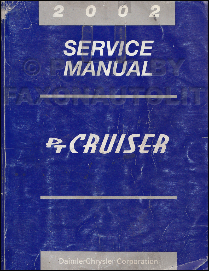 2002 Chrysler Grand Voyager Service Manual Various Owner Engine Diagram Pt Cruiser Repair Shop Original Rh Faxonautoliterature Com Transmission