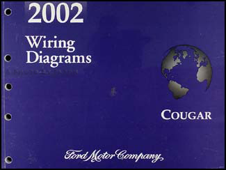 2002CougarWD 2002 mercury cougar wiring diagram manual original 2002 mercury cougar wiring diagram at bayanpartner.co