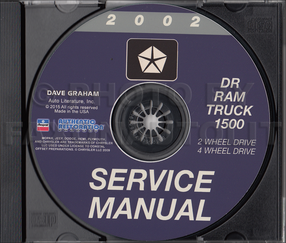 2002 dodge ram 1500 pickup truck cd rom repair shop manual. Black Bedroom Furniture Sets. Home Design Ideas