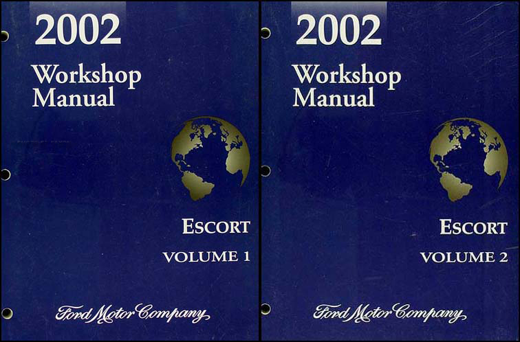 Diagram  2002 Ford Escape Service Shop Repair Set Oem 02 2 Volume Set And The Wiring Diagrams