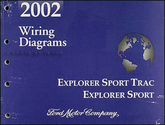 2002 Ford Explorer 4-door Sport Trac and Explorer 2-door Sport Wiring Diagram Manual