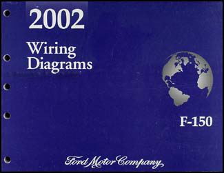 2002 Ford F-150 Wiring Diagram Manual Original