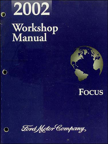 2002FocusORM 2002 ford focus repair shop manual original 2002 ford focus wiring diagram at edmiracle.co