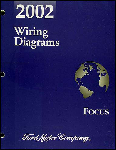 2002 ford focus wiring diagram manual original, Wiring diagram