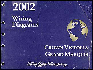 2002FordCrownVictoriaWD 2002 crown victoria & grand marquis original wiring diagram manual 2002 crown vic wiring diagram at n-0.co
