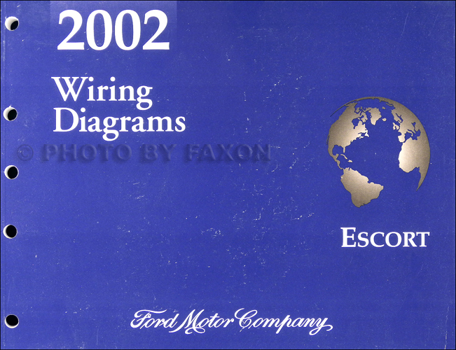 2002 ford escort zx 2 wiring diagram manual original rh faxonautoliterature com