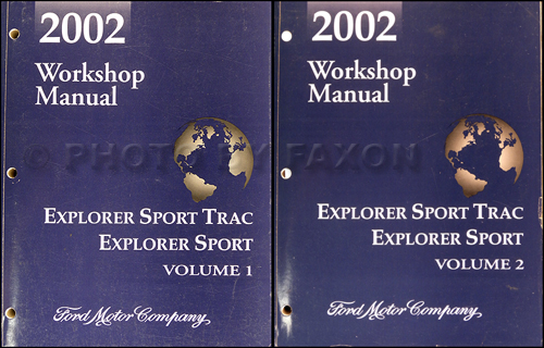 Ford Explorer Sport Trac Owners Manual PDF