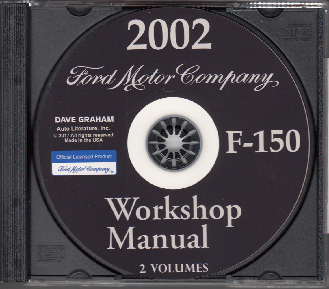 2002 ford f 150 f150 truck service shop manual set oem 2 volume setand the wiring diagrams manual