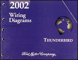 2002 ford thunderbird wiring diagram manual original rh faxonautoliterature com