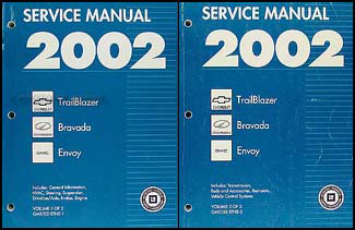 2002 trailblazer envoy bravada repair shop manual original 2 rh faxonautoliterature com 2004 chevy trailblazer repair manual online 2005 Chevy Trailblazer Problems