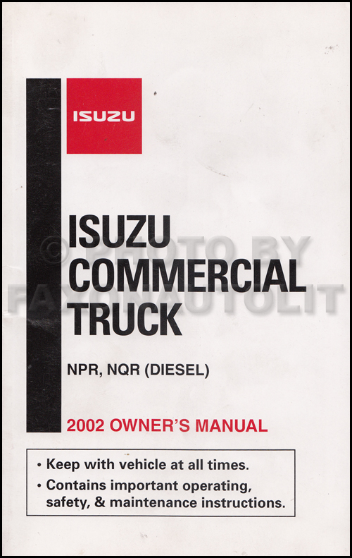 2002 npr nqr w3500 w4500 w5500 diesel repair shop manual related items