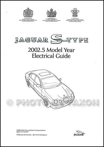 2002 jaguar s type electrical guide wiring diagram rh faxonautoliterature com