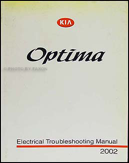 2001 2004 kia optima parts book original. Black Bedroom Furniture Sets. Home Design Ideas