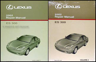 2002 lexus es 300 wiring diagram manual original 2002 lexus es 300 repair shop manual 2 volume set original es300 259 00