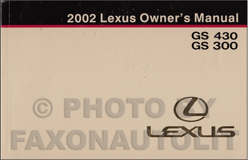 2002 lexus gs 300 and gs 430 wiring diagram manual original. Black Bedroom Furniture Sets. Home Design Ideas