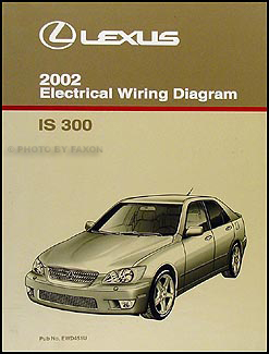 2002 lexus is 300 wiring diagram manual original rh faxonautoliterature com lexus is300 engine wiring diagram 2002 is300 wiring diagram