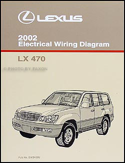 2002 lexus lx 470 wiring diagram manual original. Black Bedroom Furniture Sets. Home Design Ideas