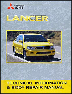 2004 mitsubishi lancer wiring diagram manual original 2002 2007 mitsubishi lancer body manual original