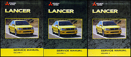 2002 mitsubishi lancer repair shop manual original 3 vol set rh faxonautoliterature com mitsubishi lancer 2002 repair manual free download mitsubishi lancer 2002 repair manual