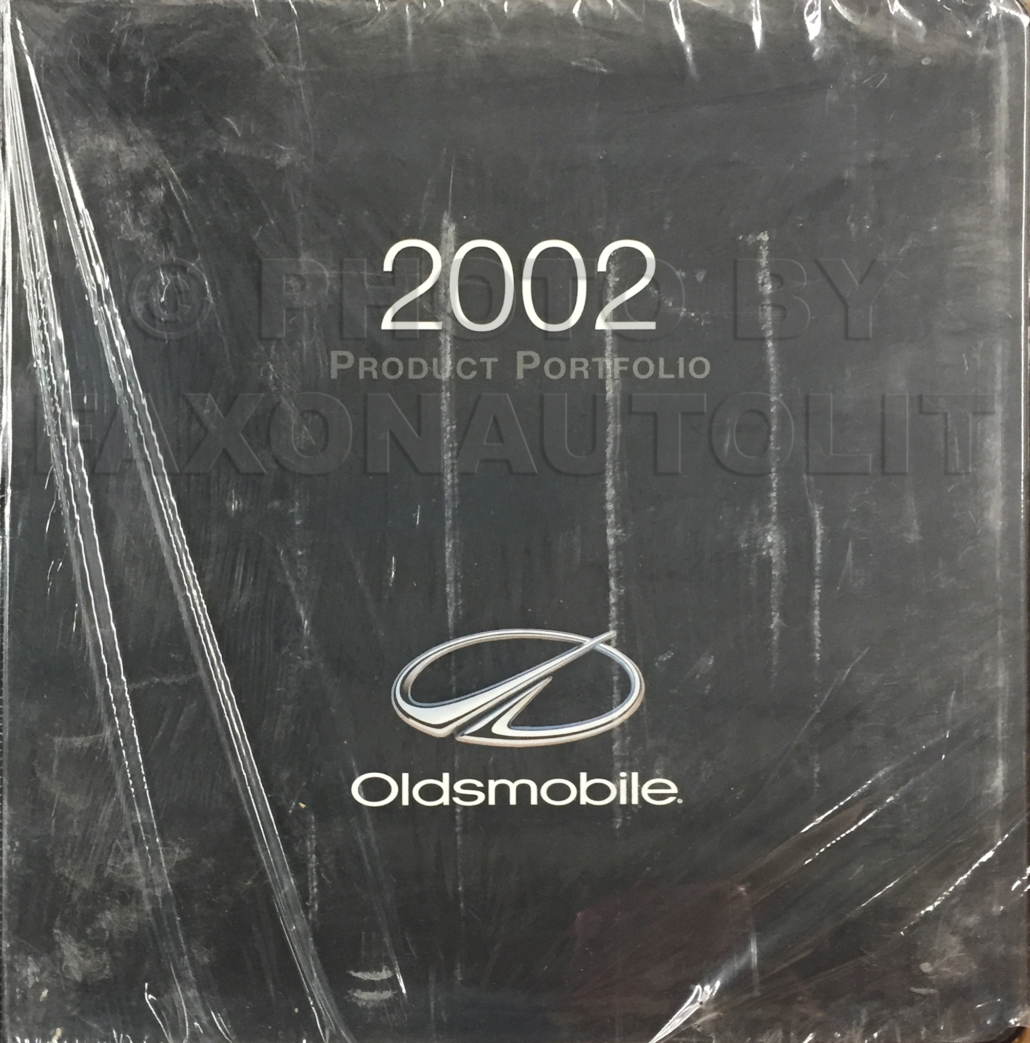 2002 Oldsmobile Color & Upholstery Album/Data Book Original