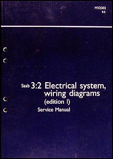 2002 saab 9 5 wiring diagrams 2002 saab 9-5 electrical service manual wiring diagrams ... #3