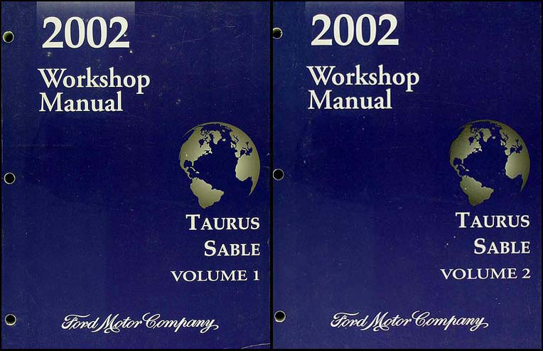 2008 Ford Taurus X Mercury Sable Service Manual Set Oem 2 Volume Set And The Wiring Diagrams Manual