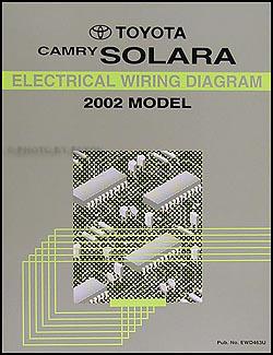 2002    Toyota Camry Solara Electrical    Wiring       Diagram    Manual    OEM    Schematic Book   eBay