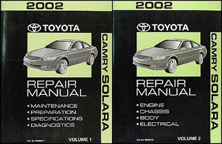 2002 toyota camry solara wiring diagram manual original related items
