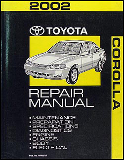 2002 Toyota Corolla Repair Manual