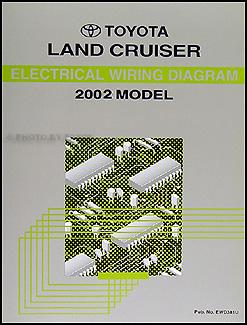 NEW 2002    Toyota    Land Cruiser    Wiring       Diagram    Manual