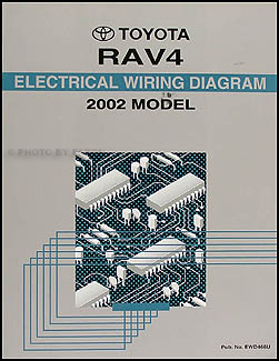 2002 toyota rav4 wiring diagram manual original rh faxonautoliterature com