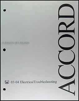 20032004 Honda Accord Electrical Troubleshooting Manual Original