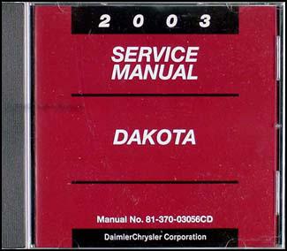 2003 dodge dakota cd rom repair shop manual original. Black Bedroom Furniture Sets. Home Design Ideas