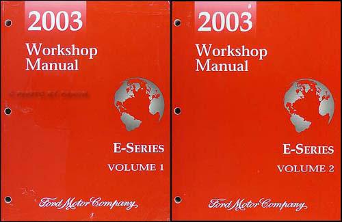 2003 Ford Econoline Van  U0026 Club Wagon Wiring Diagram Manual