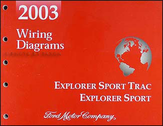 2003 Ford Explorer Sport Trac 4-door and Explorer Sport 2-door Wiring Diagram Manual