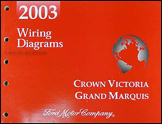 mercury marauder service manuals shop owner maintenance and 2003 crown victoria marauder grand marquis original wiring diagram manual