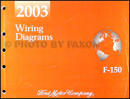 2003 Ford F150 Wiring Diagram Manual Original